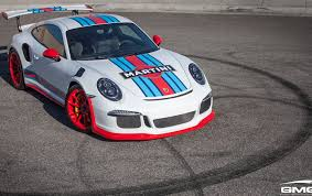martini livery bmw porsche 991 gt3rs martini style gmg racing