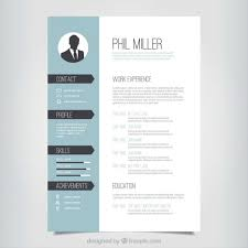 1 Page Resume Templates Free One Page Responsive Html Resume Template Fred Resumes
