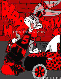 gangsta bugs bunny ladydesidee deviantart
