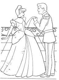 cinderella prince charming love cinderella coloring
