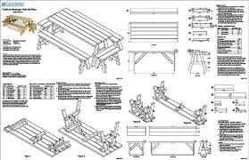 picnic table plans detached benches attractive picnic table plans with separate benches 16 with