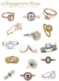 engagement rings unique fabulous finds 15 unique engagement rings exquisite weddings