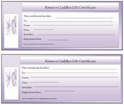microsoft gift certificate template custom gift certificate