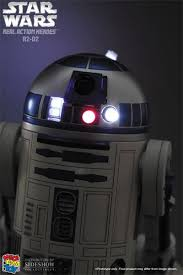 r2 d2 with led lights figure from wars episode iv a new