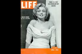 marilyn monroe life magazine covers 1952 1962 time com