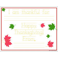 free printable thanksgiving note 11 x 8 5