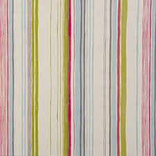 Pink Striped Curtains Rayure Multi Colour Pink Striped Curtains