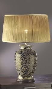 Large Table Lamps Morris Gold And Black Table Lamps Lighting At Zurleys Uk