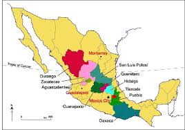 durango mexico map potential locations for green cities in mexico geo mexico the
