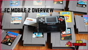 mobile console fc mobile 2 ii portable nes console overview demonstration
