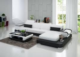canap d angle en cuir blanc canapé d angle avec éclairage en cuir pas cher