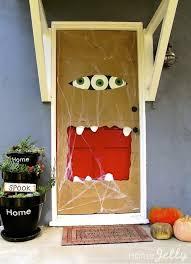 Door Decorations For Halloween 25 Spooky Diy Halloween Door Decorations For 2017 Myquirkycreation