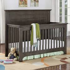 Shermag Convertible Crib by Barclay 3 In 1 Crib With Rails In White
