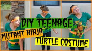 Diy Teenage Diy Teenage Mutant Ninja Turtle Costume Youtube