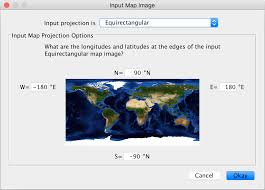 What Is A Map Projection Nasa Giss User U0027s Guide