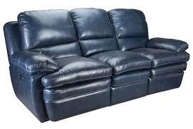 Blue Leather Sofa by Mazarine Power Reclining Leather Sofa Loveseat