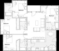 rit floor plans off cus apartments