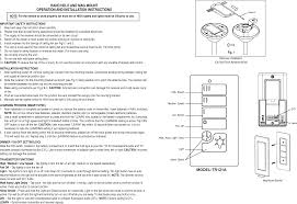 ce10002 ceiling fan remote controller transmitter user manual