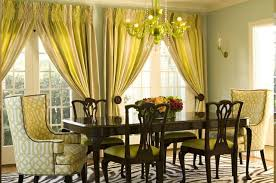 Mustard Curtain Yellow Dining Room Curtains Home Design