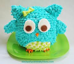 owl birthday cakes owl birthday cake or smash cake so easy