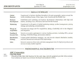Resume Sample With Skills Section by Neoteric Design Skills Section On Resume 5 Skills Section Resume