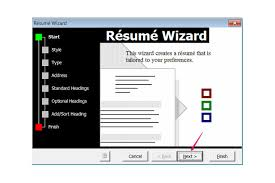 Resume Wizard Microsoft Word Wizard In Ms Word 2010