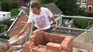 how to re build a chimney part 1 youtube