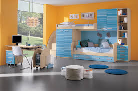 bedroom cool bunk beds for boys along with white wood bunk bed cool bunk beds for boys along with white wood bunk bed along storage blue cabinet and shelf drawer plus white wood study desk and white chair on the gray