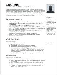 accounting manager resume sample canada accountant example cost