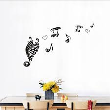 online get cheap treble clef wall art aliexpress com alibaba group music note scale treble clef removable music wall sticker diy art self adhesive vinyl quotes decal