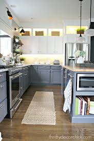 ideas for above kitchen cabinet space a diy kitchen renovation update nine months later cabinet