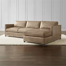 leather sofa with nailheads nailhead furniture crate and barrel