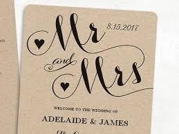Wedding Program Template Fan 8 Best Wedding Program Templates Images On Pinterest Wedding