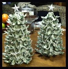 How To Make Christmas Ornaments Out Of Beads - how to fold money into christmas tree rainforest islands ferry