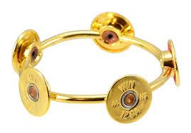 cuff bracelet gold plated images Lizzy j 39 s handmade round gold plated 12 gauge shotgun bullet shell jpg
