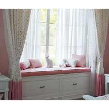 Pink Nursery Curtains Beige And Pink Polka Dots Nursery Curtains
