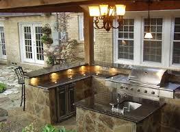 patio kitchen ideas under counter lighting outdoor kitchen pinterest patio