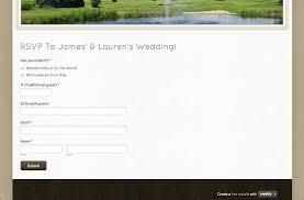 wedding rsvp websites wedding website flat