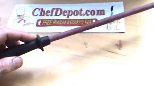 Honing Kitchen Knives Honing Steel For Japanese Knives Youtube