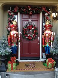 nutcrackers family room traditional with