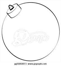 ornament clipart outline clipartsgram