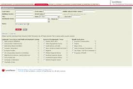 lexisnexis employment background check arrest record check usa criminal history information where can i