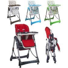 chaise haute bébé pliante chaise haute bébé pliable réglable hauteur dossier tablette monsieur
