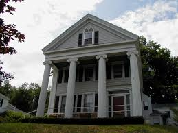 decoration cool greek revival homes with pillars and window