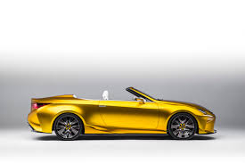 lexus convertible sports car lexus concept car fortune