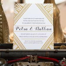 gatsby wedding invitations deco gatsby wedding invitation by and jess