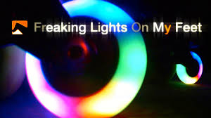 light up roller skate wheels inline skates with led s freaking lights on my feet youtube