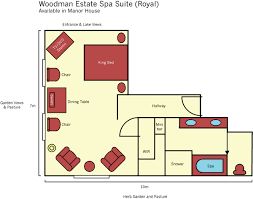 day spa floor plan layout luxury spa suite accommodation restaurant spa retreat for