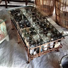 Wine Coffee Table Wine Bottle Coffee Table On Display In Warrenton Tx This Week End
