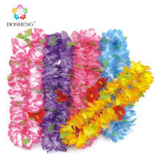 Hawaian Decorations Online Get Cheap Hawaiian Party Necklace Aliexpress Com Alibaba